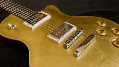 Mojo with 24kt gold leaf top